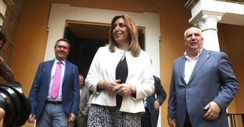 """Susana Díaz, sobre el socialismo francés: """"Cuando se toman posiciones..."""