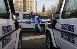 Ucraïna obre una investigació penal per l'atac contra els observadors de l'OSCE a Lugansk (VALENTYN OGIRENKO)