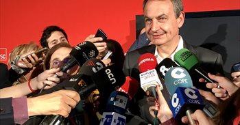 """Zapatero ve """"prejuicios"""" en Cataluña hacia Susana Díaz por ser mujer y..."""
