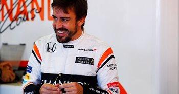 """Alonso: """"Un resultado positivo sería terminar la carrera con los dos..."""