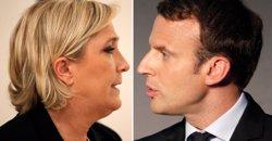 Macron i Le Pen s'enfrontaran en un debat televisat el 3 de maig (CHARLES PLATIAU/REUTERS)