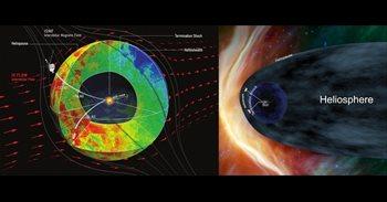 Naves de la NASA revelan que la heliosfera es casi esférica