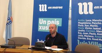 """En Marea pide ver """"con lupa"""" os contratos con firmas investigadas por..."""