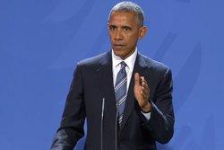 Obama reapareix en un acte: