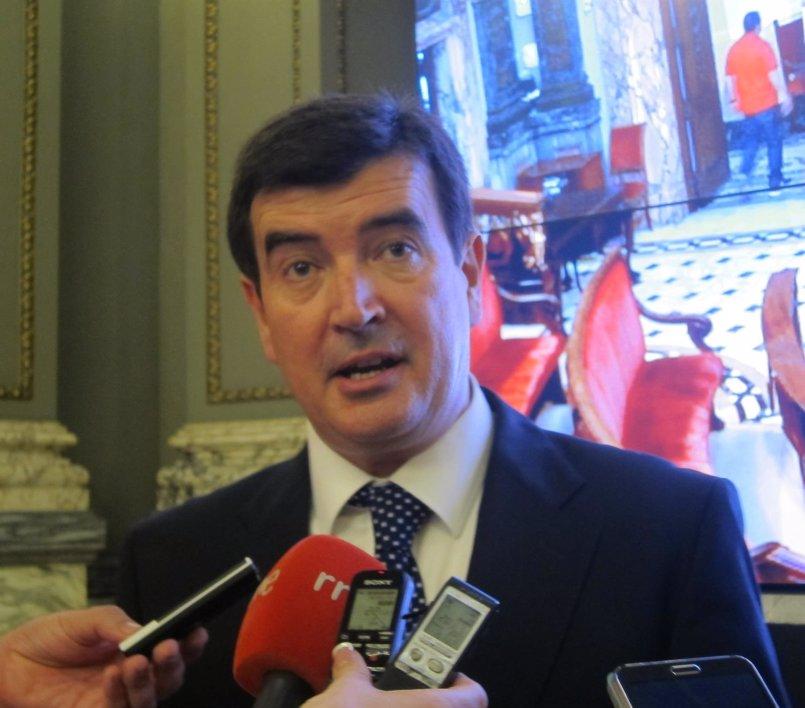 """Giner (Cs) denuncia que """"Compromís está jugando a confundir a los valencianos"""" con el acto de rechazo a los PGE"""