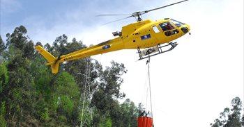 La oleada de incendios forestales afecta ya a más de 2.000 hectáreas en...