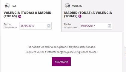 Los billetes de AVE a 25 euros saturan la web de Renfe
