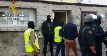 Dos detenidos en El Espinar y San Rafael (Segovia) en una operación...