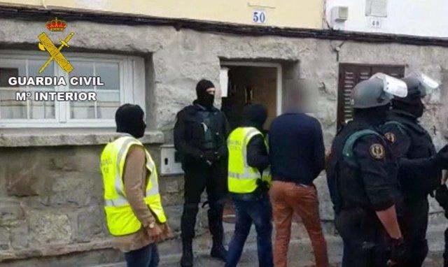 Dos detenidos en El Espinar y San Rafael (Segovia) por yihadismo