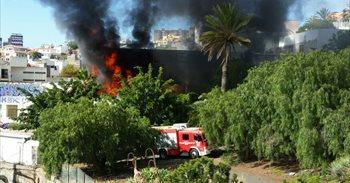El incendio de la antigua facultad de Bellas Artes pudo ser provocado