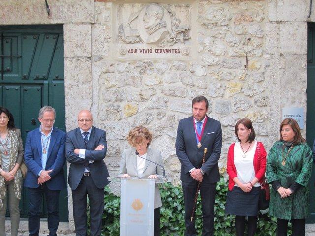 Valladolid. Homenaje a Cervantes en su casa museo