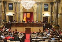 El ple del Parlament fa aquest dimecres el primer pas per agilitzar la 'desconnexió' (PARLAMENT)