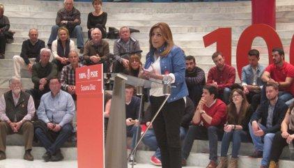 """Susana Díaz recala aquest dimecres a Catalunya per """"trencar els prejudicis"""" contra ella"""