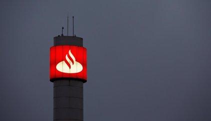 Santander gana 1.867 millones hasta marzo, un 14% más