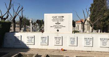 La Funeraria municipal retira el último vestigo de la Legión Cóndor del...