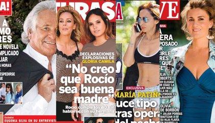 La muerte de Palomo Linares, el ataque de Gloria Camila y la nueva figura de María Patiño
