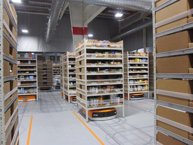 Centro logístico de Amazon en Castellbisbal