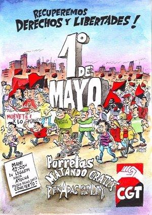 Porretas, Matando Gratix y Penadas por la Ley, gratis en Madrid el 1 de mayo por el Día del Trabajador