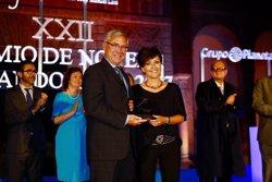 Sonsoles Ónega gana el XXII premio de Novela Fernando Lara