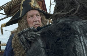 Geoffrey Rush llega a los cines con 'Piratas del Caribe':