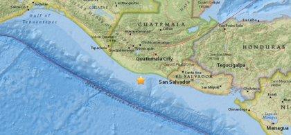 Un terremoto de 6,8 sacude Guatemala y El Salvador