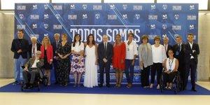 Movistar Estudiantes resalta el papel de la mujer en el deporte con los premios 'Todos Somos Estudiantes'