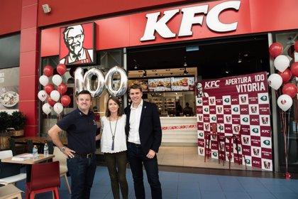 KFC invertirá 90 millones para alcanzar los 200 restaurantes en España en tres años