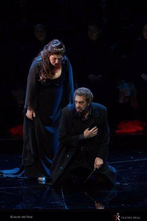 Un Plácido Domingo de aniversario despide la temporada del Teatro Real con un largo aplauso para su 'Macbeth'