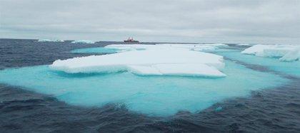 El deshielo del Océano Ártico favorece la formación de nubes al emitir nitrógeno orgánico