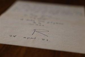 La Biblioteca Nacional de España adquiere un epistolario de Roberto Bolaño dirigido a Bruno Montané Krebs