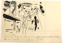 La BNE recibe el archivo gráfico de la obra del humorista y caricaturista Dátile