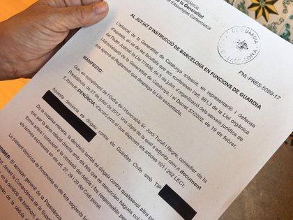 El Govern denuncia a la Guardia Civil por los interrogatorios a cargos de la Generalitat