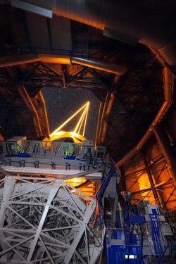 El ESO desarrolla un sistema de óptica adaptativa que permite captar imágenes