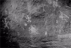 'Piedra del Sol': el grabado rupestre del Cañón de Chaco que podría representar un eclipse solar del siglo XI
