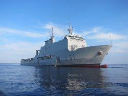 El buque 'Galicia' regresa este sábado a la Base Naval de Rota (Cádiz) tras finalizar la operación Atalanta