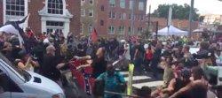 Nuevos enfrentamientos en Charlottesville a menos de una hora de la manifestación