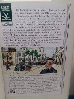El catalán llega a Metro de Madrid de la mano de textos de Josep Pla dentro de la campaña 'Libros a la calle'