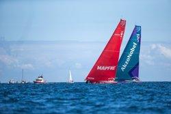 El 'MAPFRE' prolonga su dominio en la Etapa Cero de la Volvo Ocean Race