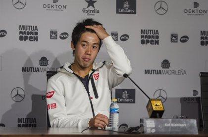 Nishikori no volverá a jugar hasta 2018, igual que Djokovic y Wawrinka, por una lesión de muñeca