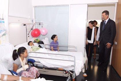 La Casa del Rey aclara que tenía permiso expreso para difundir imágenes de niños heridos