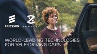 Ericsson y Zenuity, la sociedad de Autoliv y Volvo, se unen para impulsar el coche autónomo
