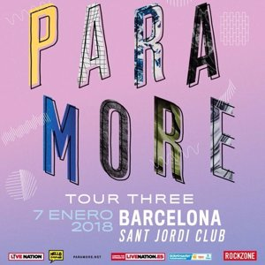 Paramore presentarán nuevo disco en Barcelona