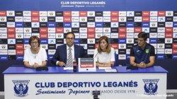 La fundación del Leganés donará 350.000 euros al fútbol base cada temporada que esté en Primera