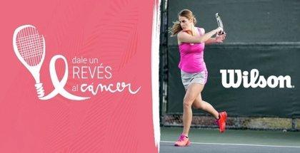 Wilson lanza la campaña 'Dale un revés al cáncer' para luchar contra el cáncer de mama