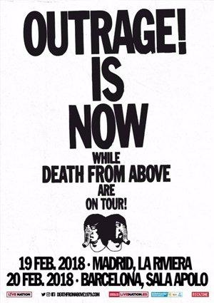 Death From Above presentarán su nuevo disco en Madrid y Barcelona