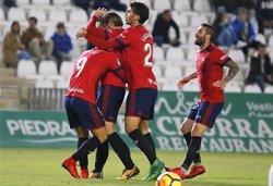 (Crónica) Un gol de Xisco tumba al Córdoba y pone a Osasuna en la punta