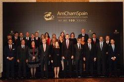 El Rey anima a las empresas de España y EEUU a colaborar y explorar juntas nuevos mercados
