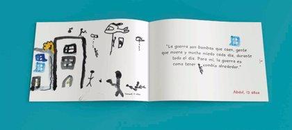 Niños sirios refugiados en Grecia cuentan su propia historia en el libro '¡Amigo Mío!'