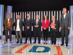 El bloque soberanista y Cs, PSC y PP exhiben sus diferencias irreconciliables en el primer debate