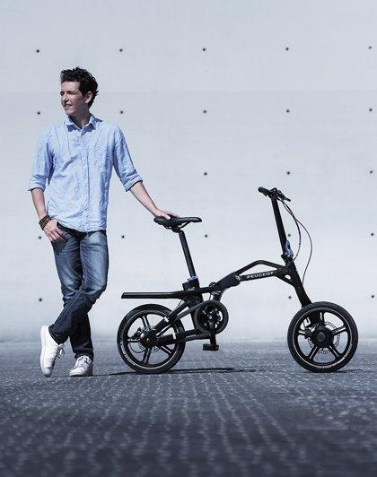 La bicicleta plegable Peugeot eF01 gana el Estrella de Oro del Observatorio francés del diseño